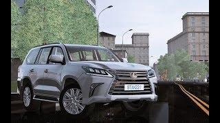 City Car Driving - Lexus LX570 2017 5.7 V8 | Custom Sound | + LINK | 1080p & G27