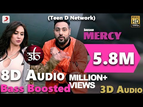No Mercy | 3D Audio | Badshah | Virtual 3D Audio | HQ