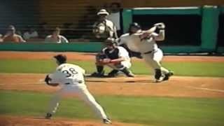 Raul Mondesi Turns Jeff Bagwell Bullet Into Double Play!