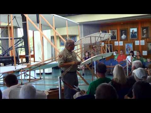 Flight Room Talks At Wright Brothers National Memorial