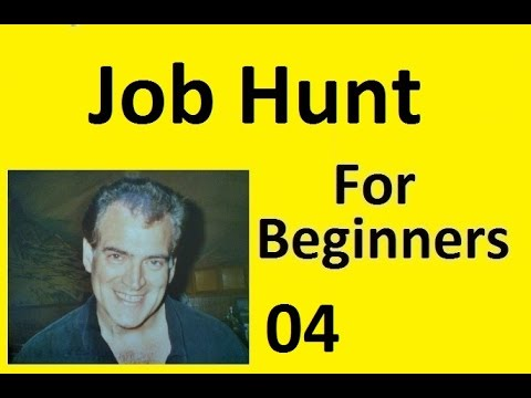 004 Your Job Hunt How to Create a Resume