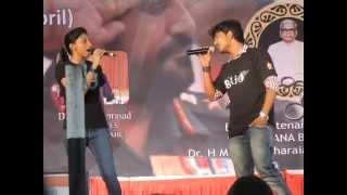 o gunavantha song from Jothe Jotheyali by prashant patil and rakshita R, in kalotsava ssit tumkur