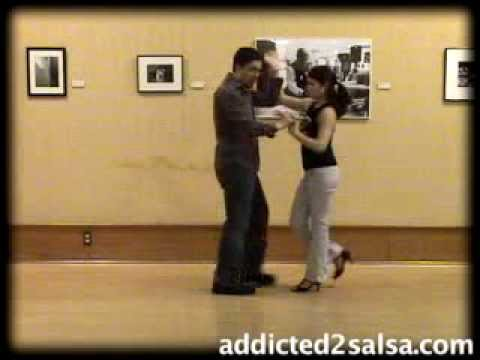 Salsa Dance Lesson : The Submarine Move