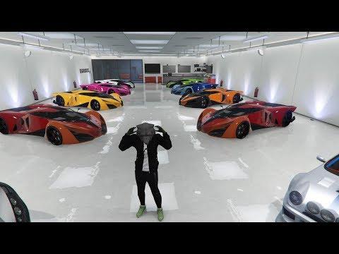 PROBANDO EN DIRECTO LOS NUEVOS COCHES - CAR SHOW - GTA V Online PS4