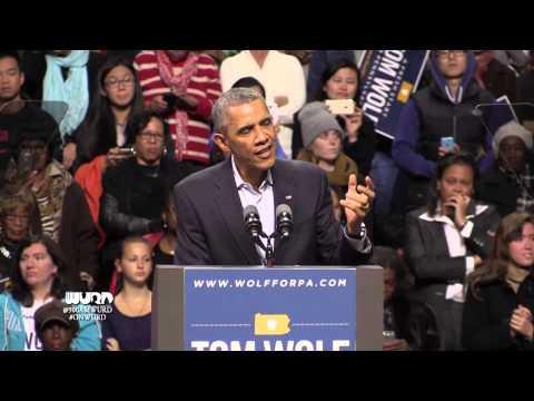 President Obama - Tom Wolf