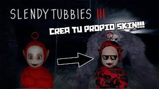 Tutorial-Como crear tu personaje en SlendyTUBBIES III Facil-Danilo