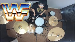 WWE WWF Legends Theme Songs Medley On Drums