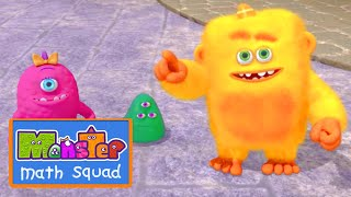 Monster Math Squad | FULL EPISODE | Number Muncher Monster | Learning Numbers Series