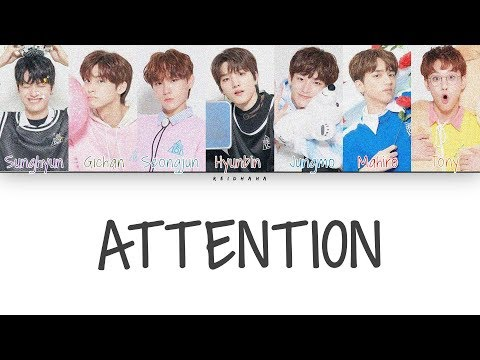 PRODUCE X 101 Half Spicy Half Fried - Attention (Color Coded Lyrics Eng)