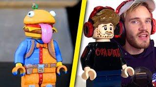 NAJLEPSZE MINIFIGURKI LEGO STWORZONE PRZEZ FANÓW