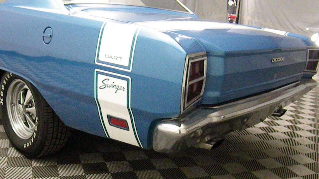 1969 Dodge Dart 340 V8 4 Speed Youtube