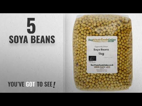 Top 10 Soya Beans [2018]: Buy Whole Foods Organic Soya Beans 1 Kg