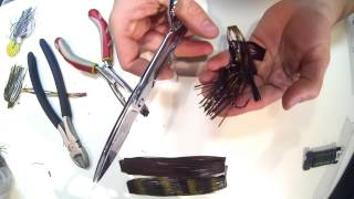 How To Hand Tie Your Own Bass Jig Skirts With No Special Tools