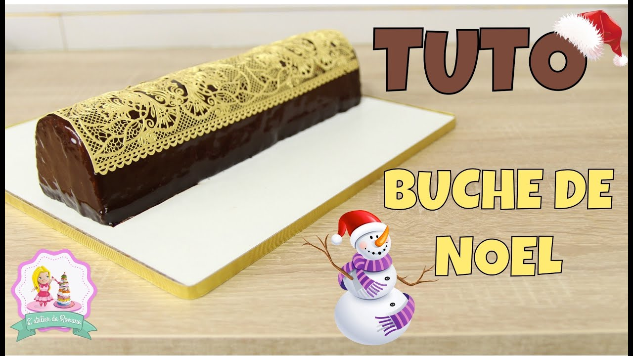 recette buche de noel glacage miroir au chocolat framboise et pain d 39 pices youtube. Black Bedroom Furniture Sets. Home Design Ideas
