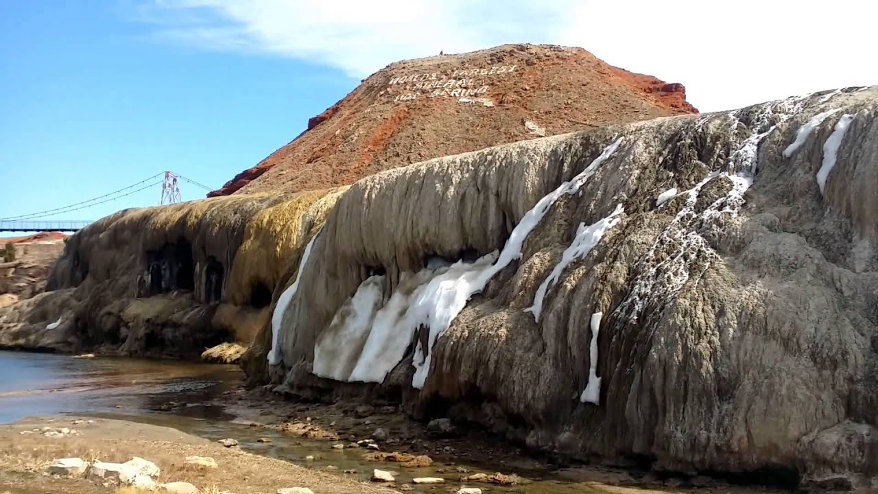 hot springs state park - thermopolis wyoming