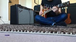 Celestion G12 Creamback, Fender Deluxe Reverb amplifier demo