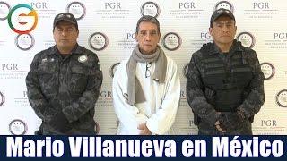 Mario Villanueva es entregado a las autoridades mexicanas