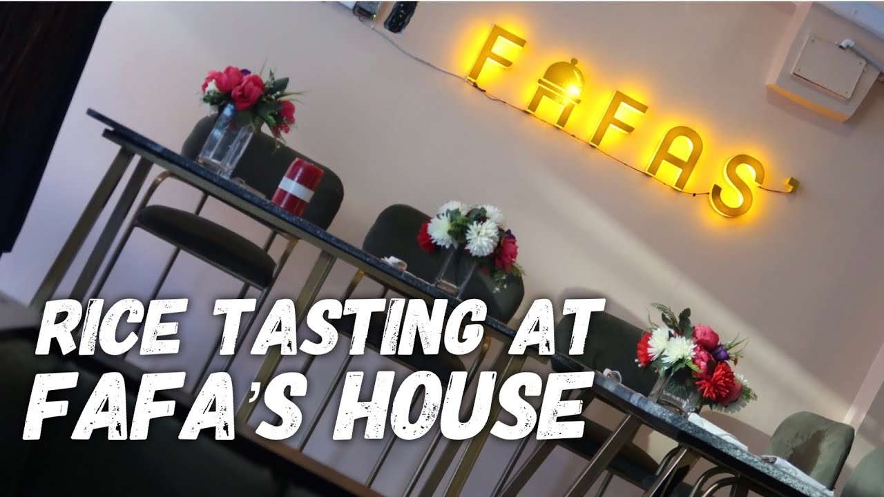 FOOD TASTING AT FAFA'S HOUSE RESTUARANT, ABUJA CITY