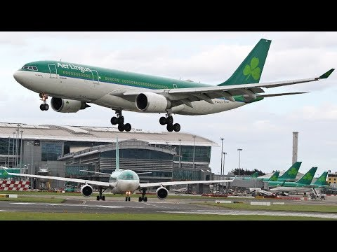 Planespotting at Dublin Airport | A350/B777/A330/B767/ 12/06/2017