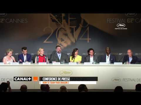 Cannes 2014 DRAGONS 2 - Conférence de presse
