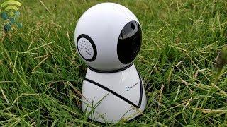 Eseesmart WiFi Camera Wireless Dome Camera 720p Home Security Surveillance IP Camera REVIEW