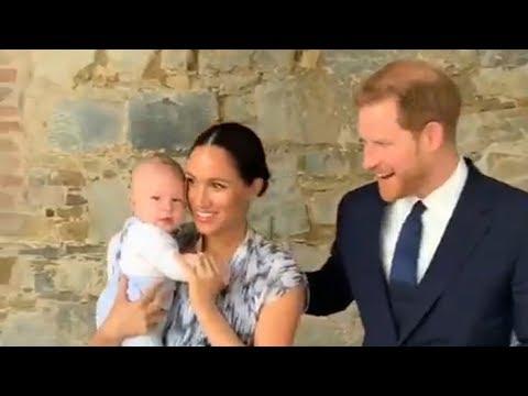 Royals take baby Archie to meet Archbishop Desmond Tutu in South Africa