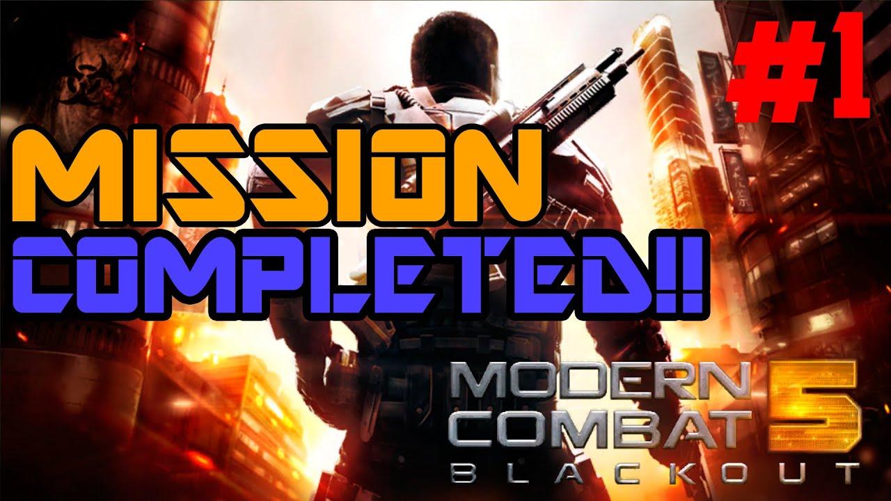 modern combat 5 1 mission completed gameplay en espa 241 ol