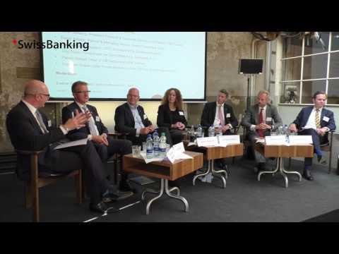 Paneldiskussion am Journalistenseminar 2017: Die Banken und der Schweizer Markt