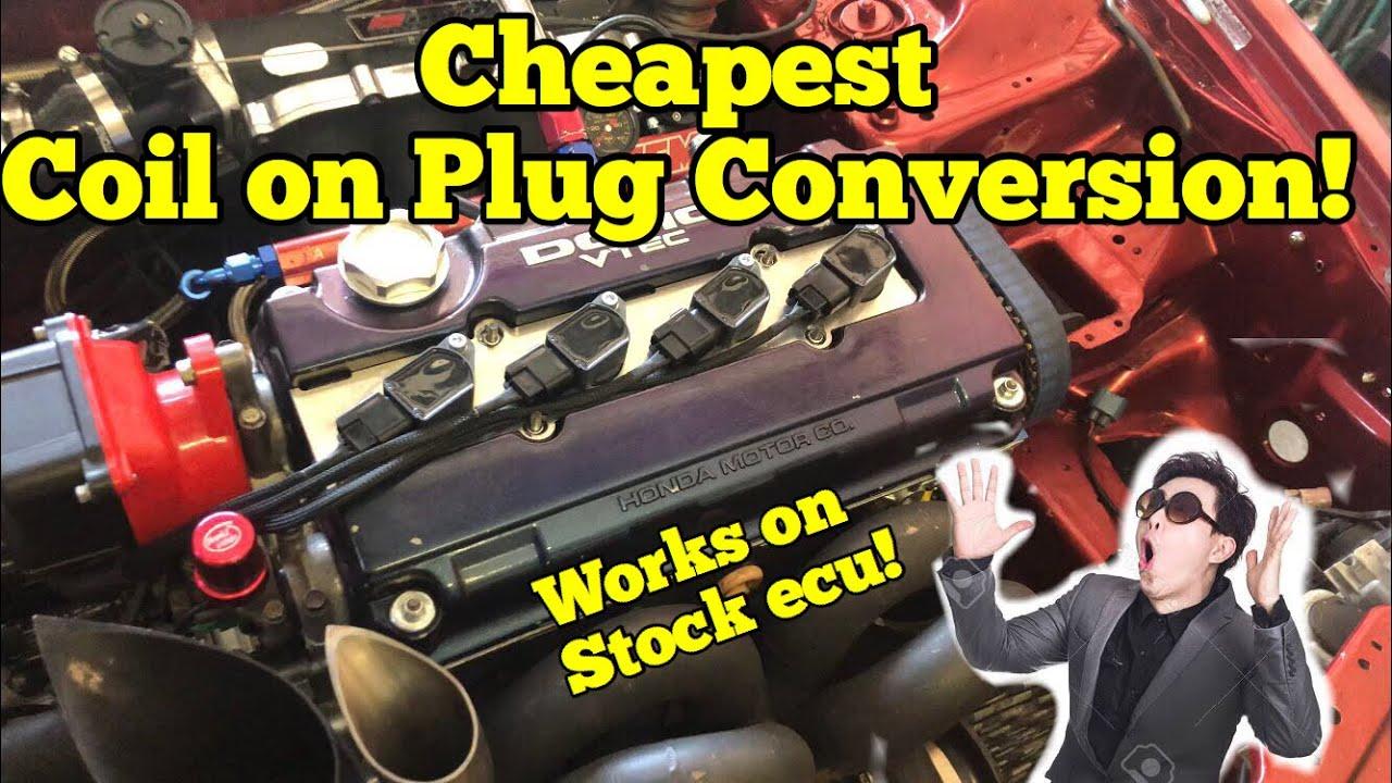 medium resolution of most affordable coil on plug setup burton racing