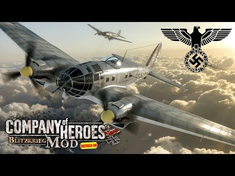 Company of Heroes Blitzkrieg Mod Panzer Elite Luftwaffe Tactic