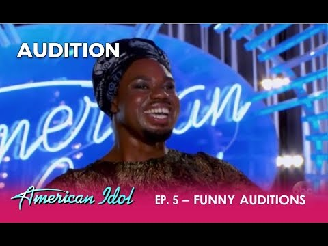 Week 3: Two FUNNIEST Auditions! | American Idol 2018