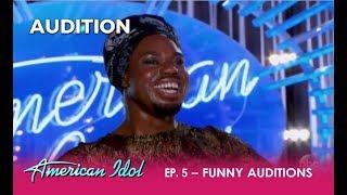 Week 3: Two FUNNIEST Auditions! | American Idol 2018