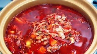 Как приготовить вкусный борщ с мясом простой видео рецепт(Как правильно приготовить вкусный борщ для чайников, рецепт этого блюда в моём видео. Это традиционный..., 2015-12-27T12:27:02.000Z)