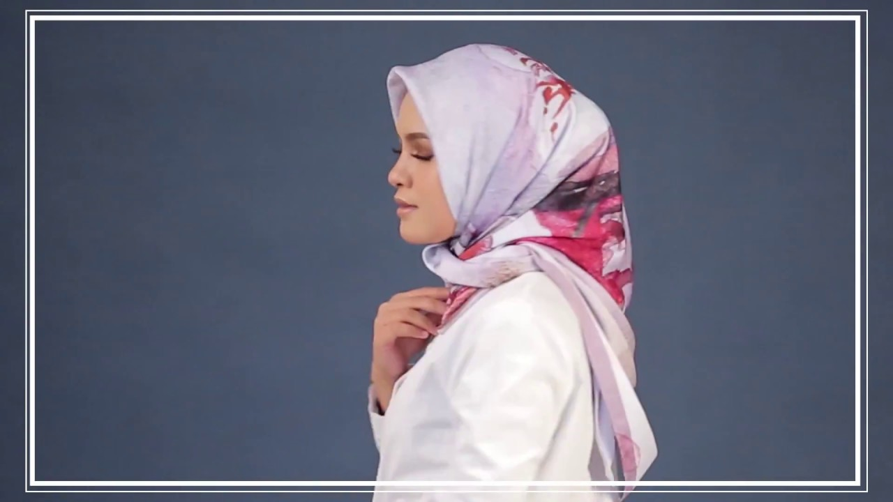 Fashion style How to turkish wear square hijab for woman