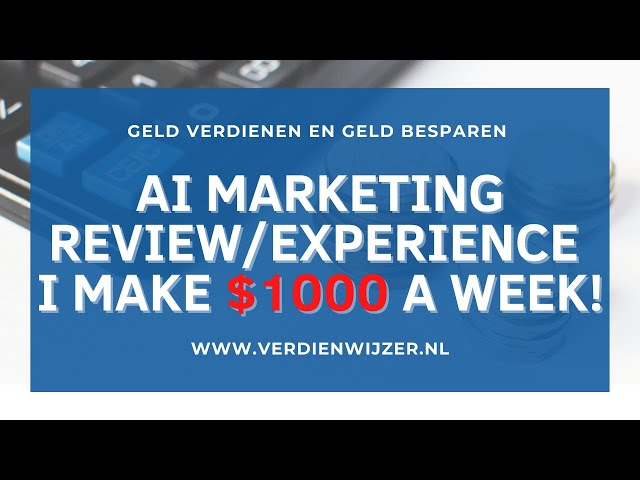 AI marketing review. Earn 24/7 money with your own marketbot!