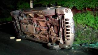 Chaseidisher Couple Miraculously Escape Car Accident