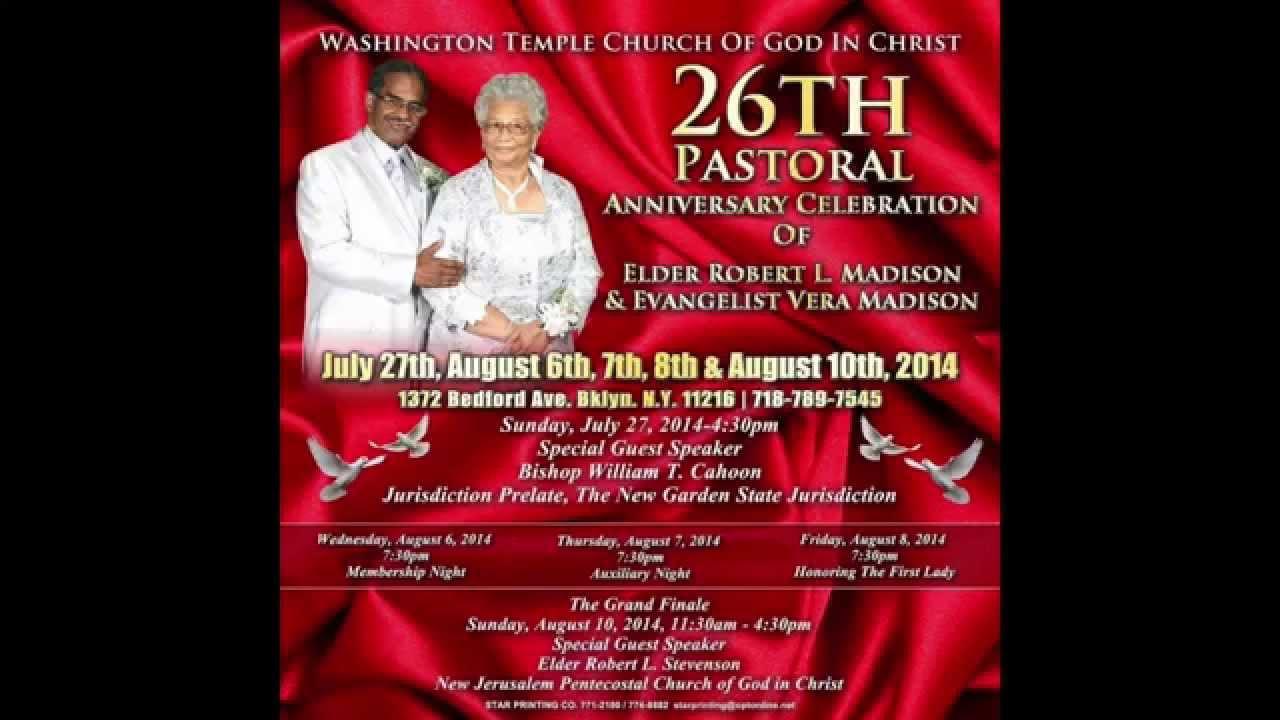 26th Wedding Anniversary Gift: 26th Pastoral Anniversary Promo