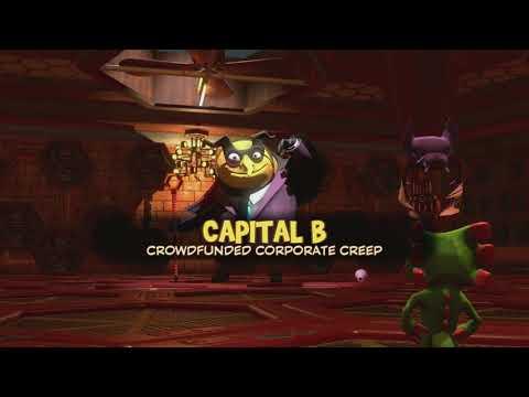 "Final Boss: Capital B | Yooka-Laylee 100% Walkthrough ""21/21"" (No Commentary)"