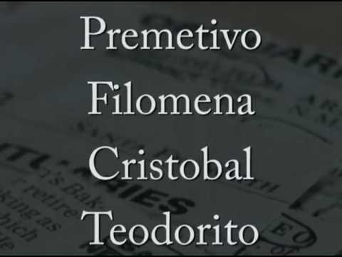 Spanish Names Fade Into History
