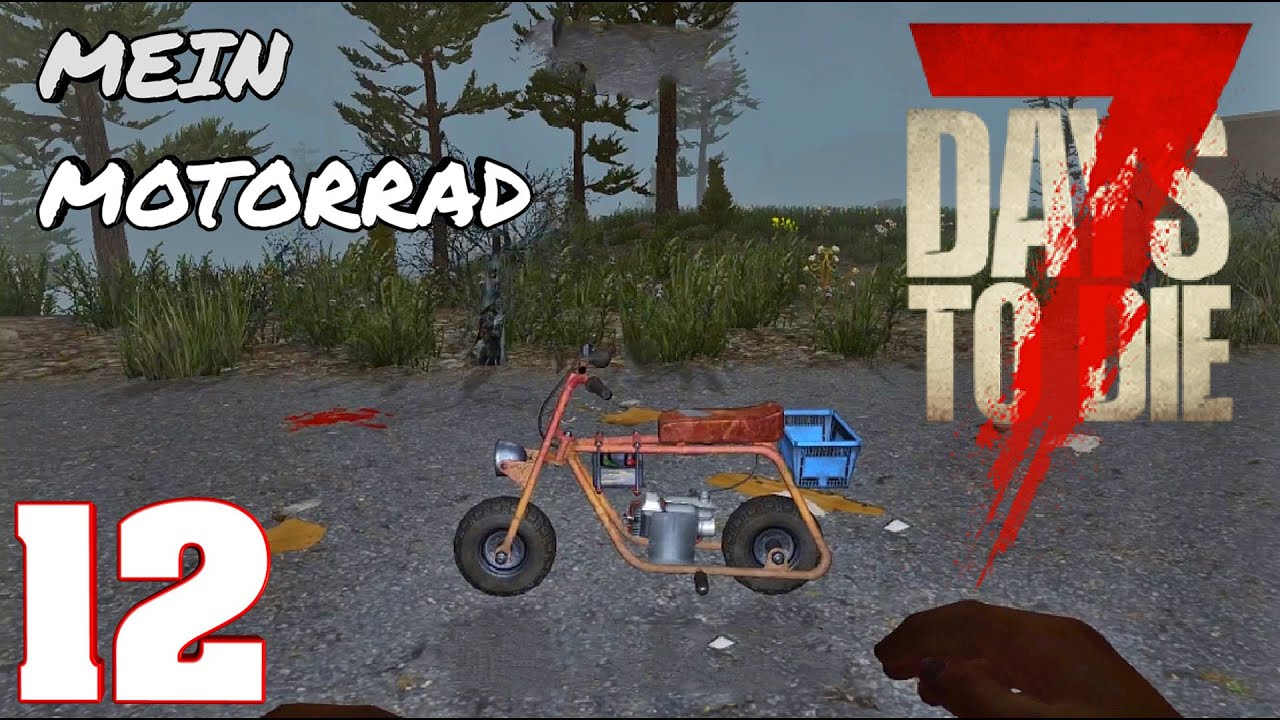 7 days to die ps4 german endlich ein motorrad 12 youtube for Cocinar en 7 days to die ps4