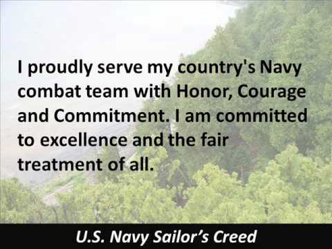 sailors creed us navy hear the text
