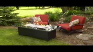 Montego Gas Fire Pit Table By The Ogc - Table De Feu Au Gaz Montego De Outdoor Greatroom