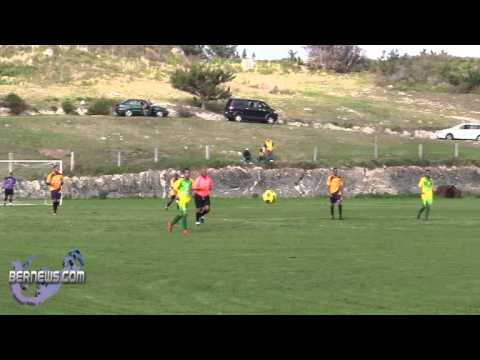 #2 St. David's vs Cougars Premier Football soccer Bermuda Feb 6th 2011