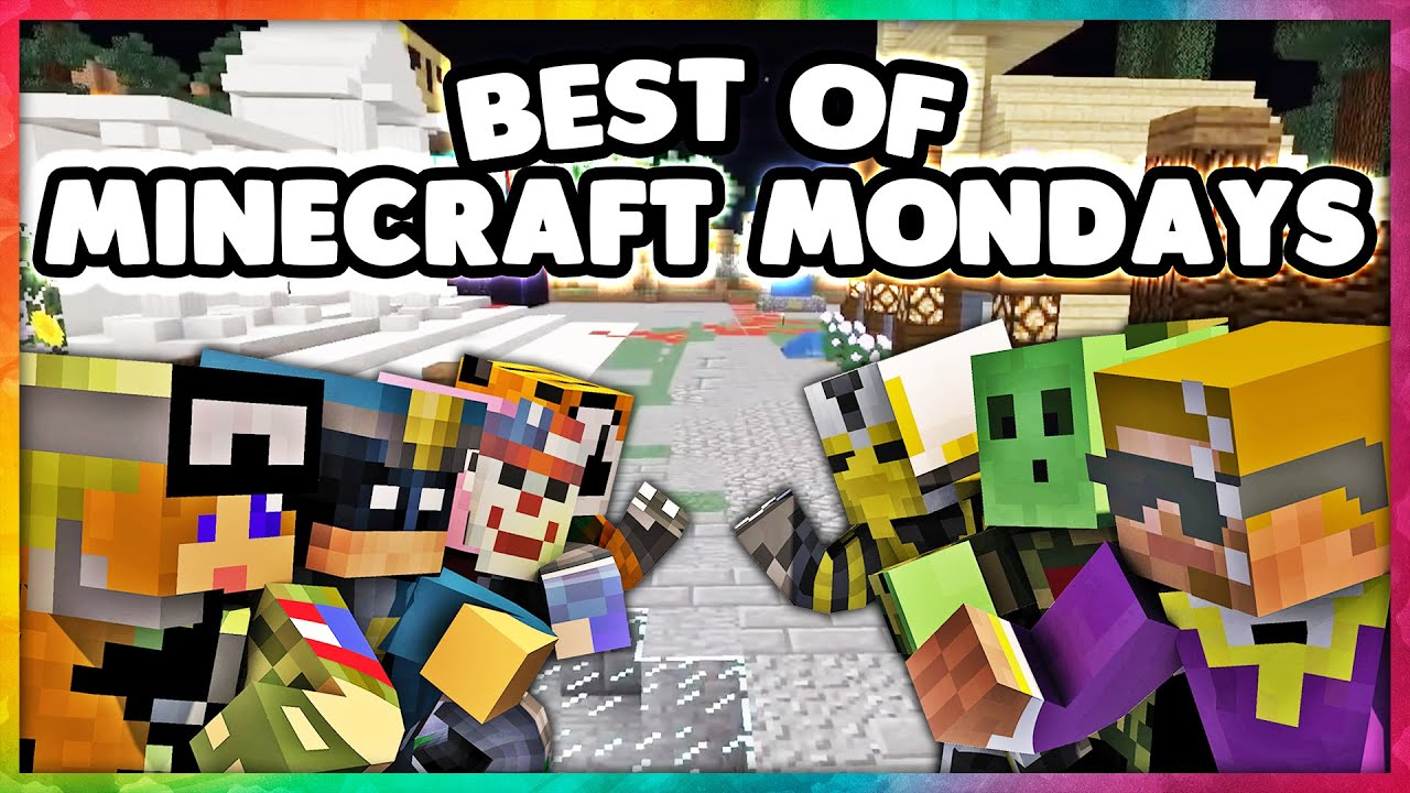 The Crew's Best of Minecraft Mondays! (Funny Moments Montage)