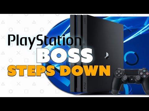 PlayStation Boss STEPS DOWN