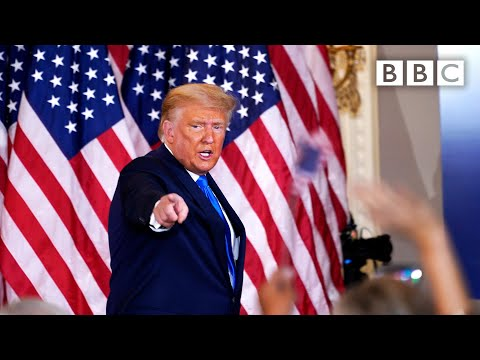 Trump speech: 'We're going to the Supreme Court' 🇺🇸 US Election @BBC News live - BBC