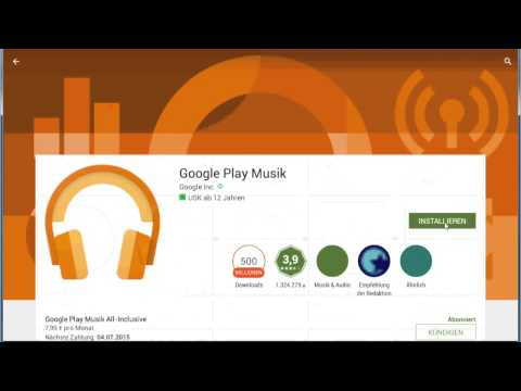 Export / Rip / Download MP3 von Google Play Music All Access