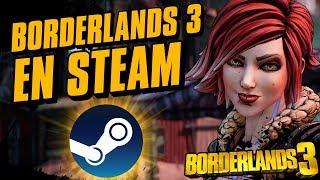 ¡Borderlands 3 en STEAM este 13 de Marzo!
