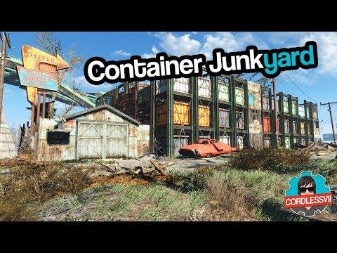 Fallout 4   Container Junkyard Settlement