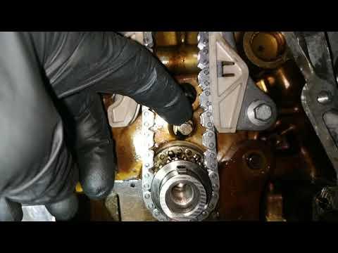 #Замена#цепи#ГРМ#Nissan#кашкай 2014год.#1.2турбо часть2